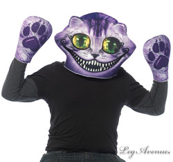 Cheshire Foam Mask and Gloves