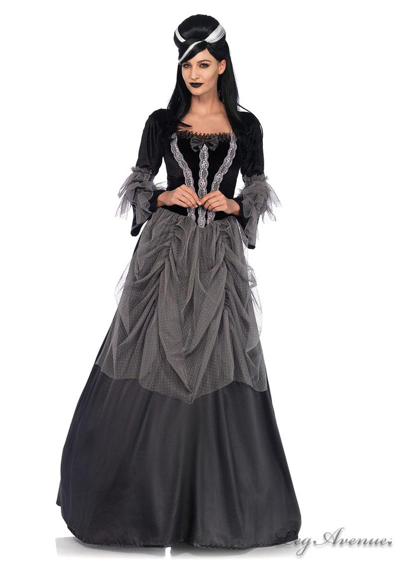 Velvet Victorian Ball Gown