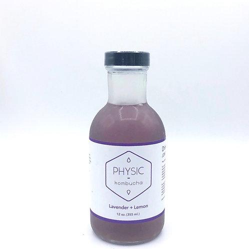 Lavender + Lemon Kombucha (12oz.)