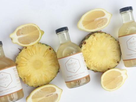 Health Benefits of Pineapple, Lemon & Coconut