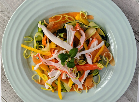 Kombucha Crab Salad