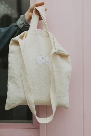 Kindred x Flouirsh tote bag