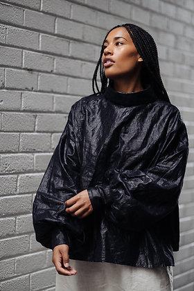 CADHLA | BLACK BEETLED LINEN