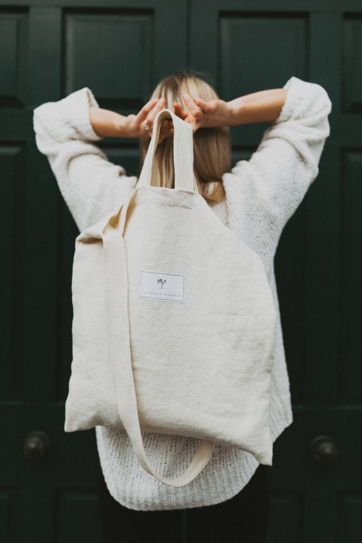 Kindred x Flourish tote bag