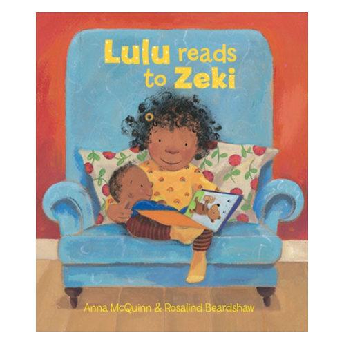 Lulu Reads to Zeki - Anna McQuinn