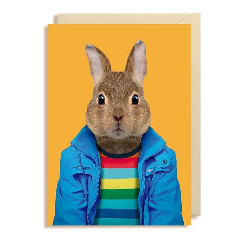 Card - European Rabbit
