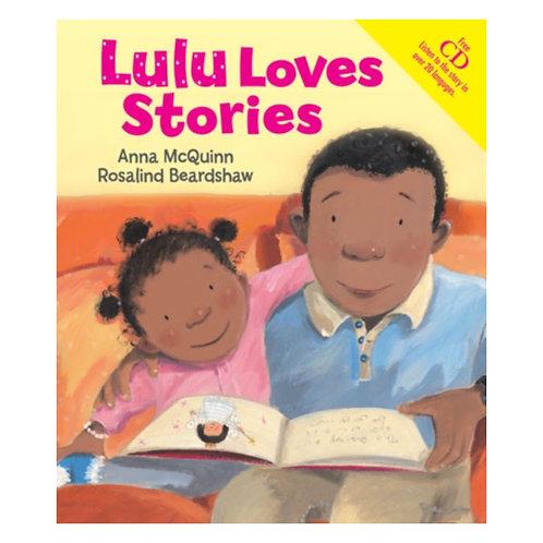 Lulu Loves Stories - Anna McQuinn & Rosalind Beardshaw
