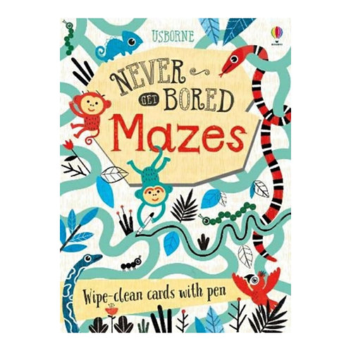Never Get Bored: Mazes