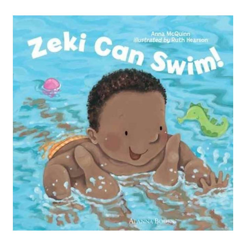Zeki Can Swim! - Anna McQuinn