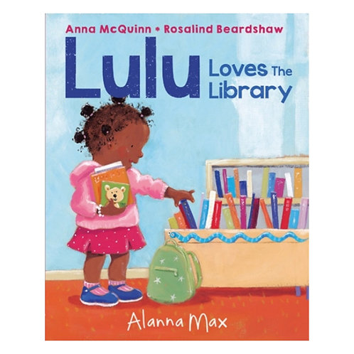 Lulu Loves the Library - Anna McQuinn & Rosalind Beardshaw