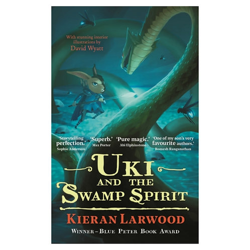 Uki and the Swamp Spirit - Kieran Larwood