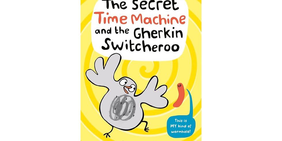 Author Event: Simone Lia - The Secret Time Machine and The Gherkin Switcheroo
