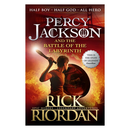 Percy Jackson & the Battle of the Labyrinth - Rick Riordan