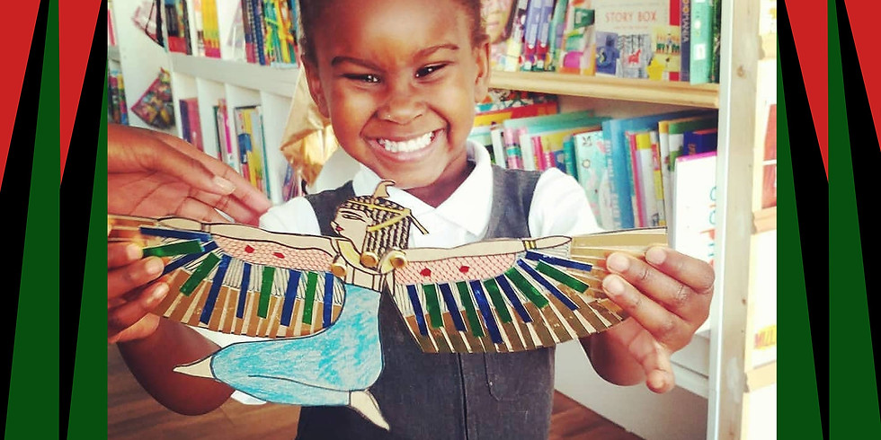 Black History Month.  Workshop One: Egyptian Wisdom crowns