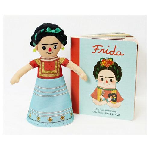 Frida Kahlo Doll and Book Set