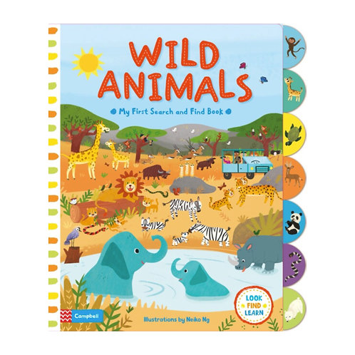 Search and Find: Wild Animals