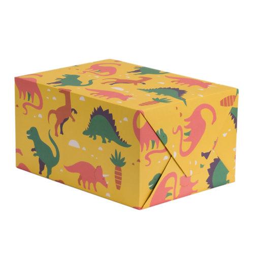 Dinosaur Wrapping Paper - 1 Sheet