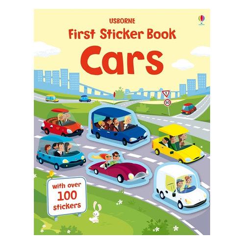 First Sticker Book Cars