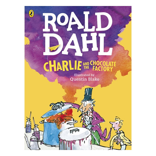 Charlie and the Chocolate Factory (Colour Edition) - Roald Dahl & Quentin Blake