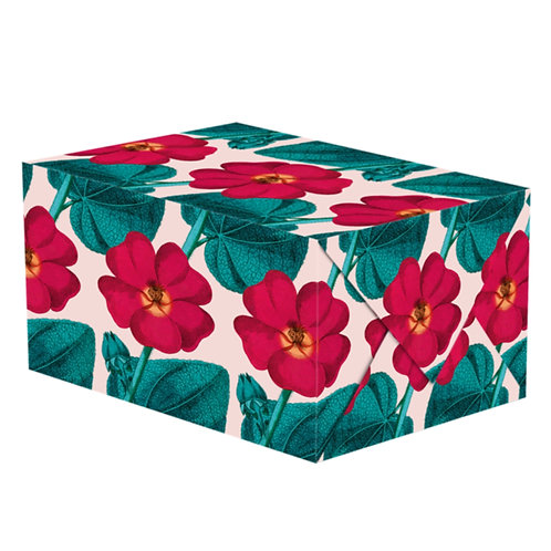 Hollyhock Wrapping Paper - 1 Sheet