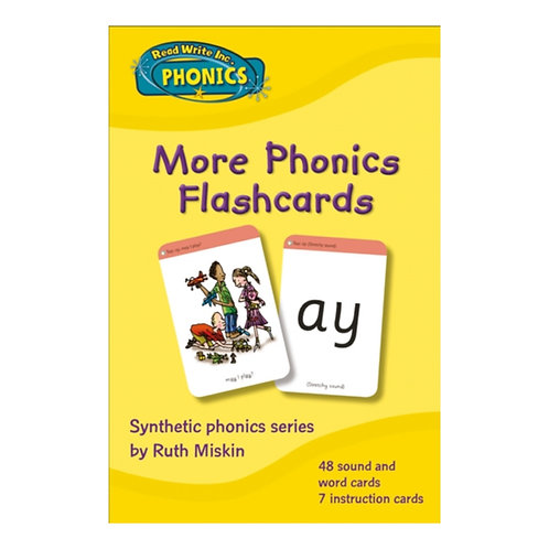 More Phonics Flashcards
