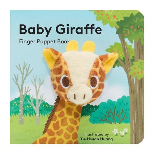 Baby Giraffe: Finger Puppet Book