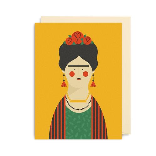 Frida Kahlo Mini Card