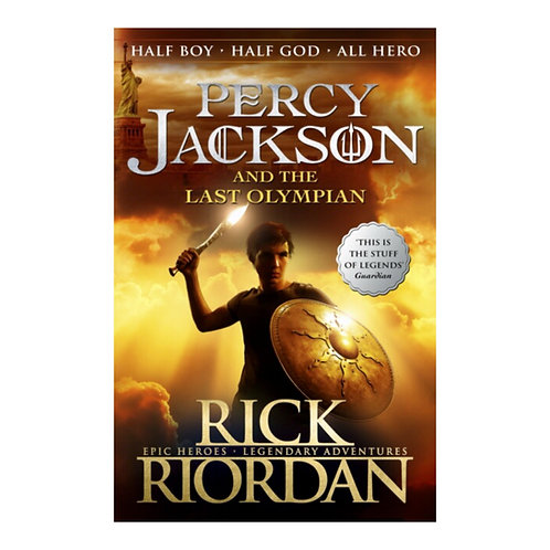 Percy Jackson & the Last Olympian - Rick Riordan