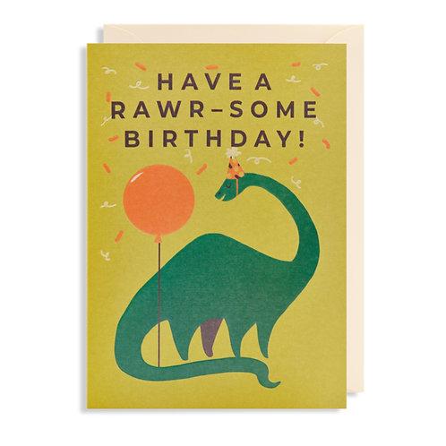 Card - Have A Rawr-some Birthday!