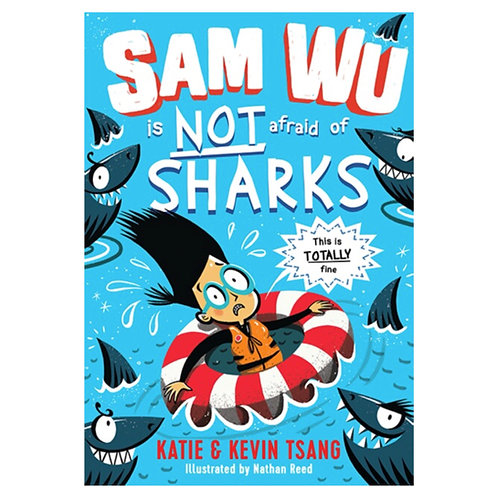 Sam Wu Is Not Afraid of Sharks - Katie & Kevin Tsang