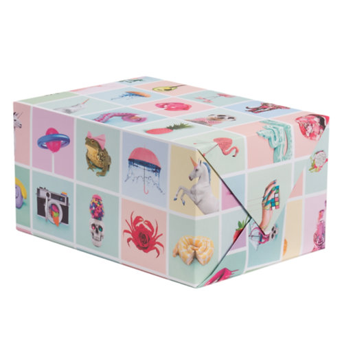 Pop Wrapping Paper - 1 Sheet