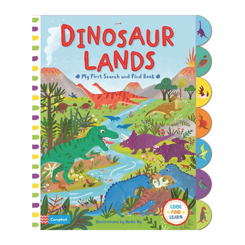 Search and Find: Dinosaur Lands