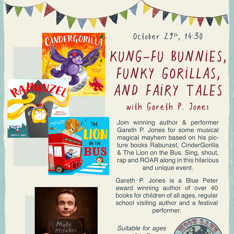 Kung-Fu Bunnies, Funky Gorillas and Fairy Tales - with Gareth P Jones