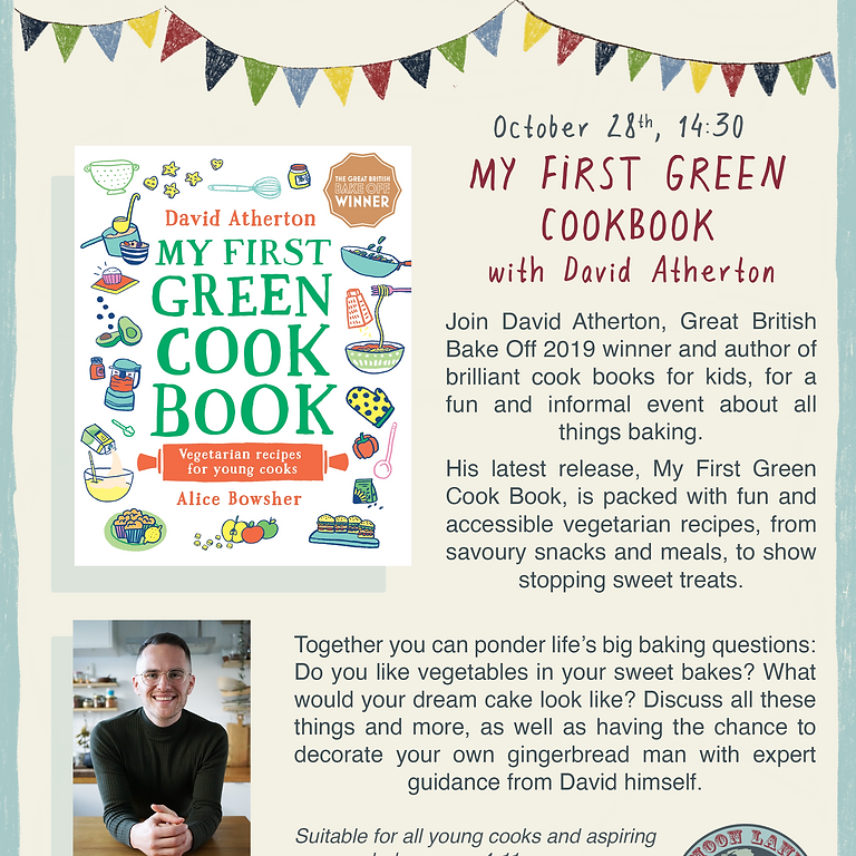My First Green Cook Book - with David Atherton
