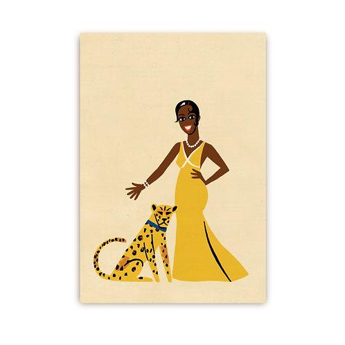 Josephine Baker Mini Card