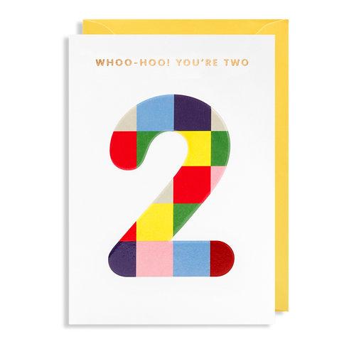 Card - Woo-Hoo! You're Two