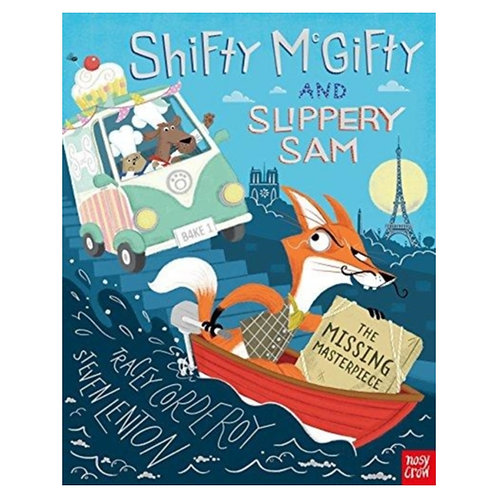 Shifty McGifty and Slippery Sam: The Missing Masterpiece - Tracey Corderoy