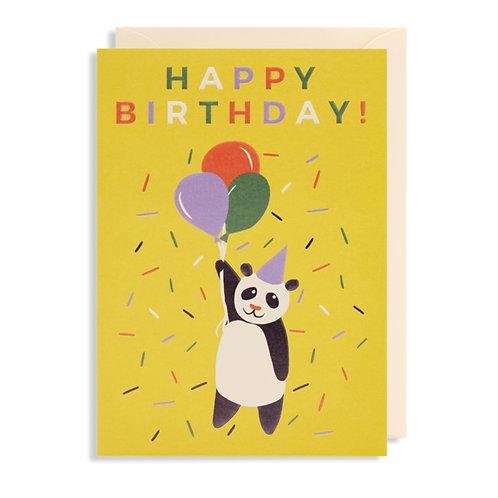 Card - Happy Birthday Panda