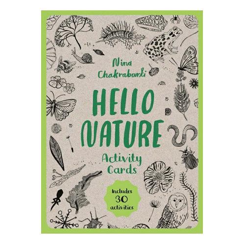 Hello Nature Activity Cards : 30 Activities
