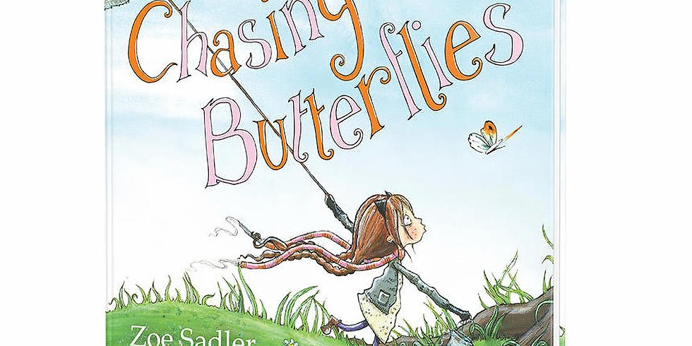 CPID Author Event: Zoe Sadler,  Chasing Butterflies
