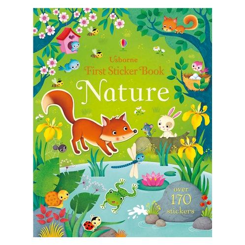 First Sticker Book Nature