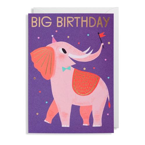 Card - Elephant Birthday
