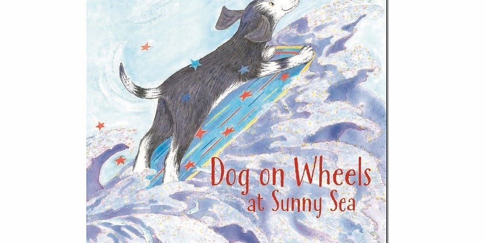 CPID Author Event: Gillian McClure, Dog on Wheels at Sunny Sea