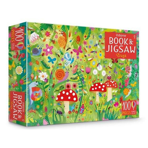 Bugs: Book and Jigsaw - 100 Pieces
