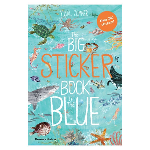 The Big Sticker Book of the Blue - Yuval Zommer
