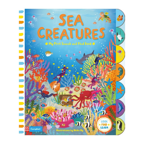 Search and Find: Sea Creatures