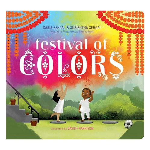 Festival of Colors - Surishtha Sehgal, Kabir Sehgal & Vashti Harrison