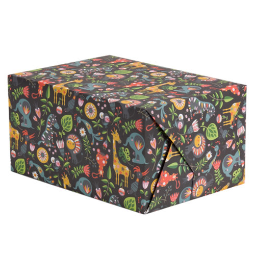 Animals Wrapping Paper - 1 Sheet