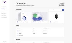Dashboard - Files