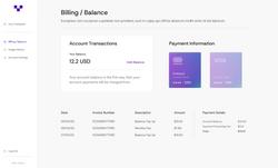 Dashboard - Account Settings - Card Adde